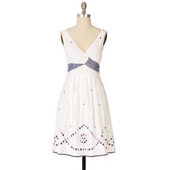 Anthropologie Antik Batik Flutter-Sleeve Lace Maxi Dress